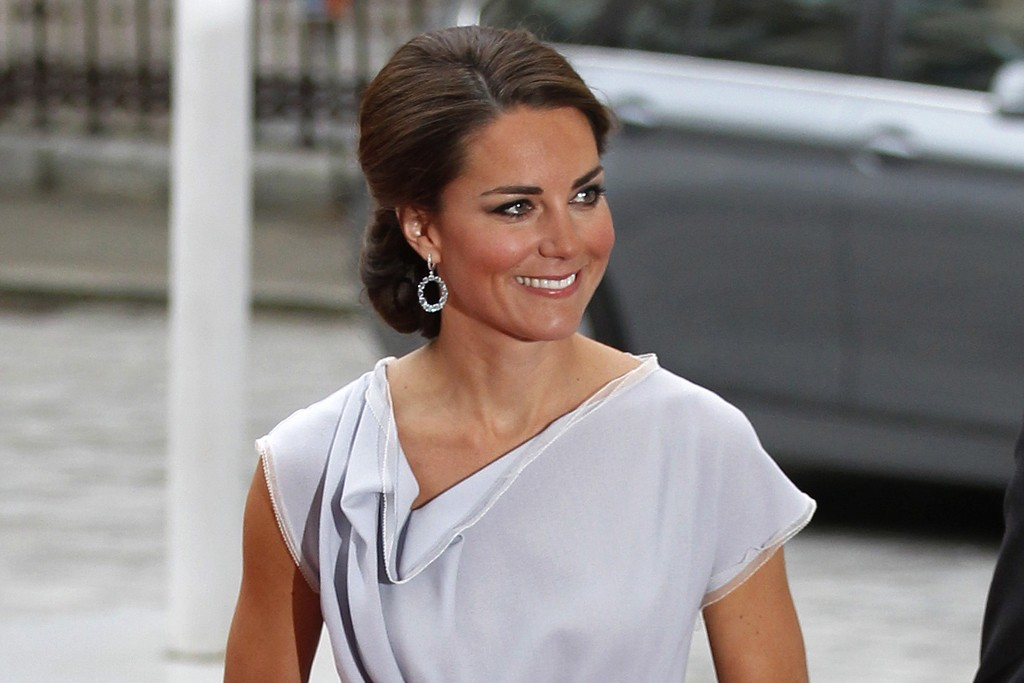 The Duchess of Cambridge in Roksanda Ilincic.