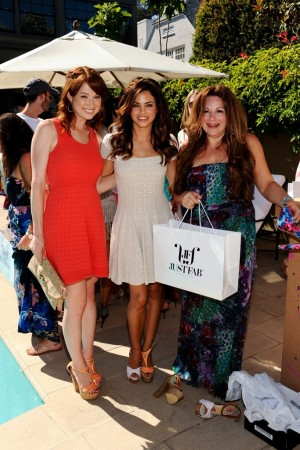 Ellie Kemper, Jenna Dewan and Jessica Paster.