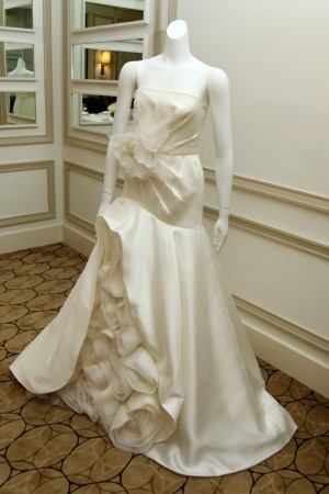 A White by Vera Wang gown for David's Bridal.