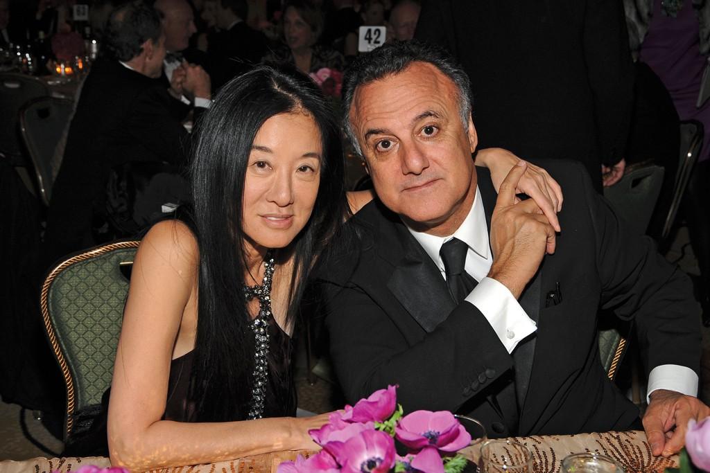 Vera Wang and Arthur Becker