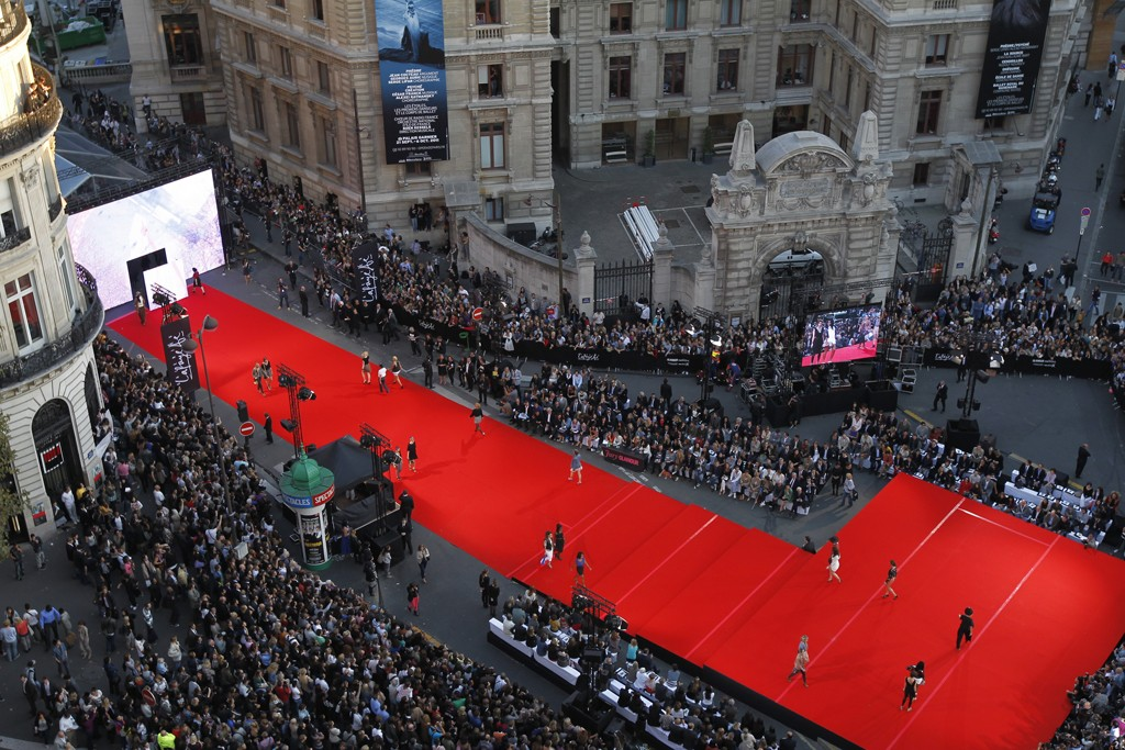 The Galeries Lafayette fashion show in 2011