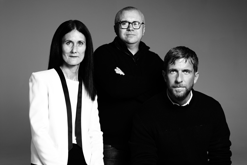 Julie Mannion, Ed Filipowski and Mark Loy.