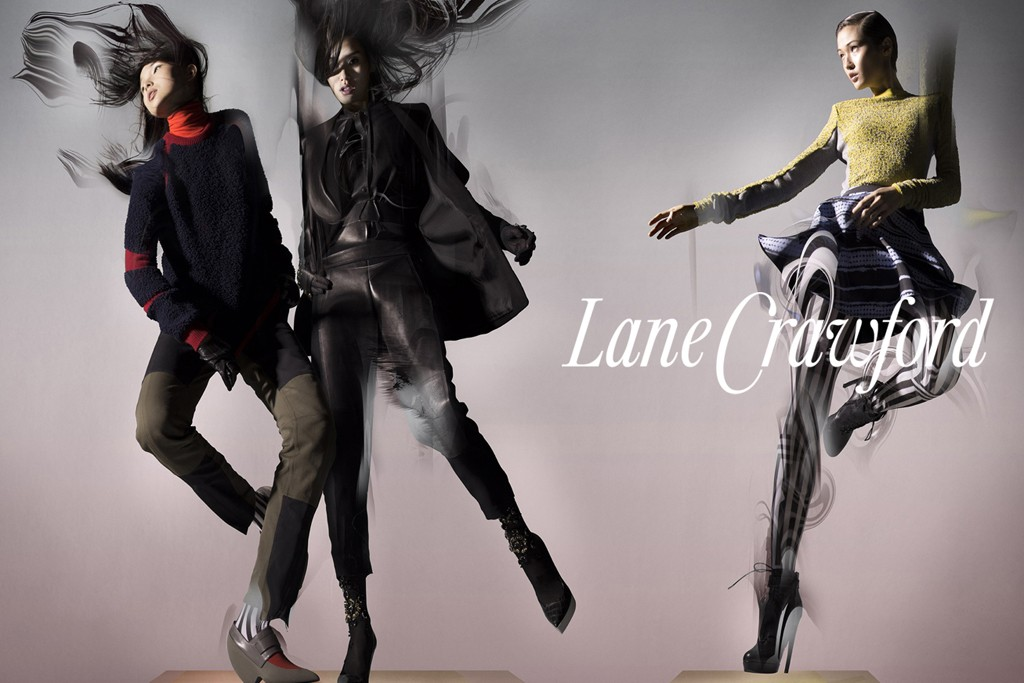 An image from Lane Crawford's fall-winter campaign
