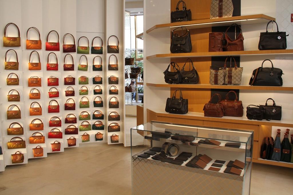 Longchamp's Rockefeller Center store in New York City.