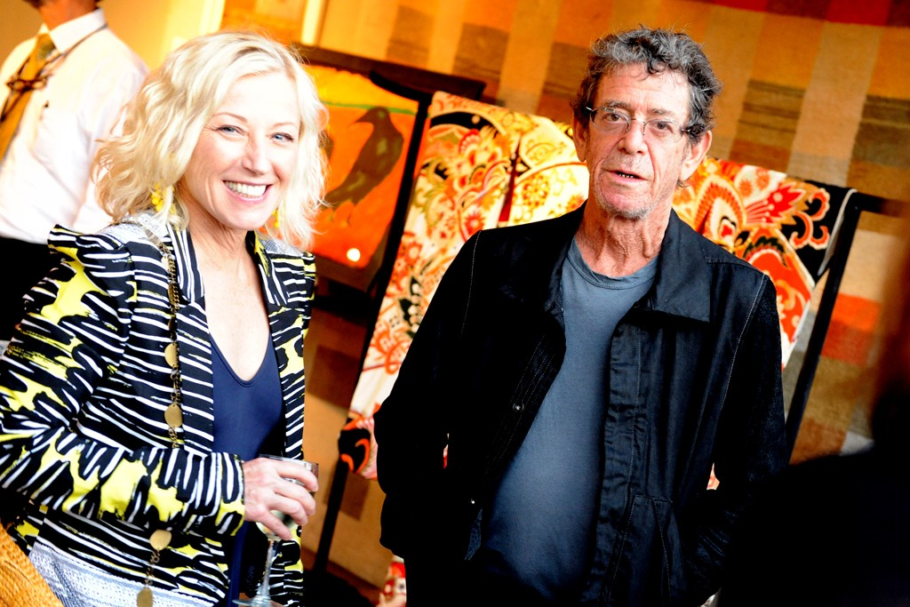 Cindy Sherman and Lou Reed