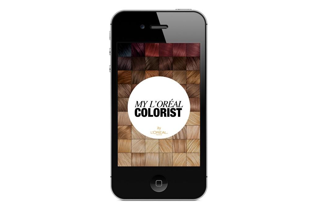 The My?L'Oréal Colorist app.