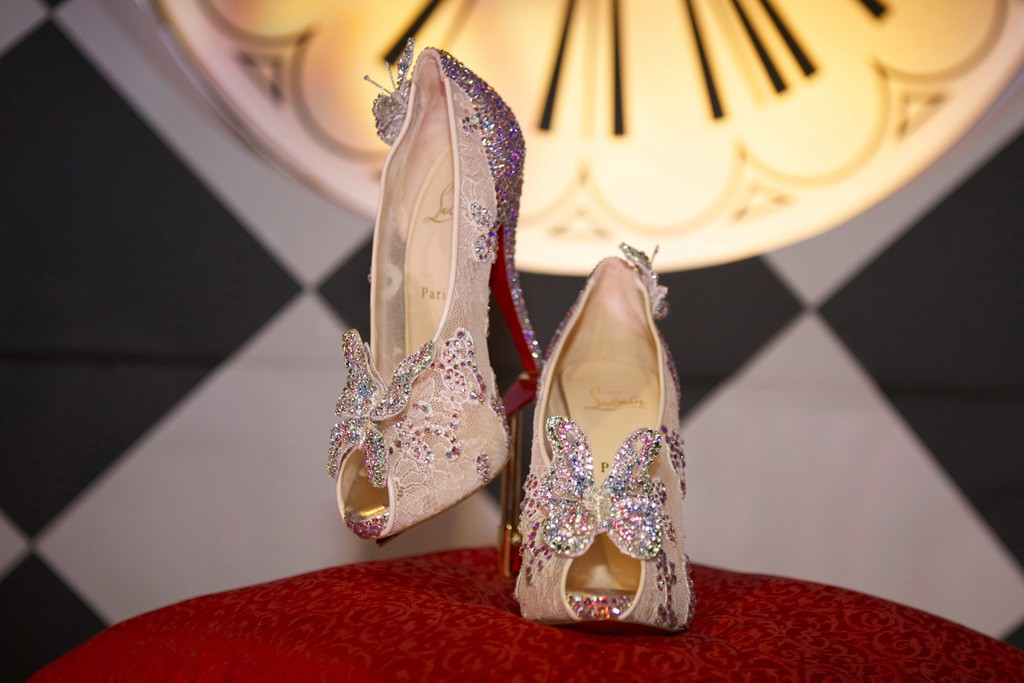 The Christian Louboutin Cinderella shoe