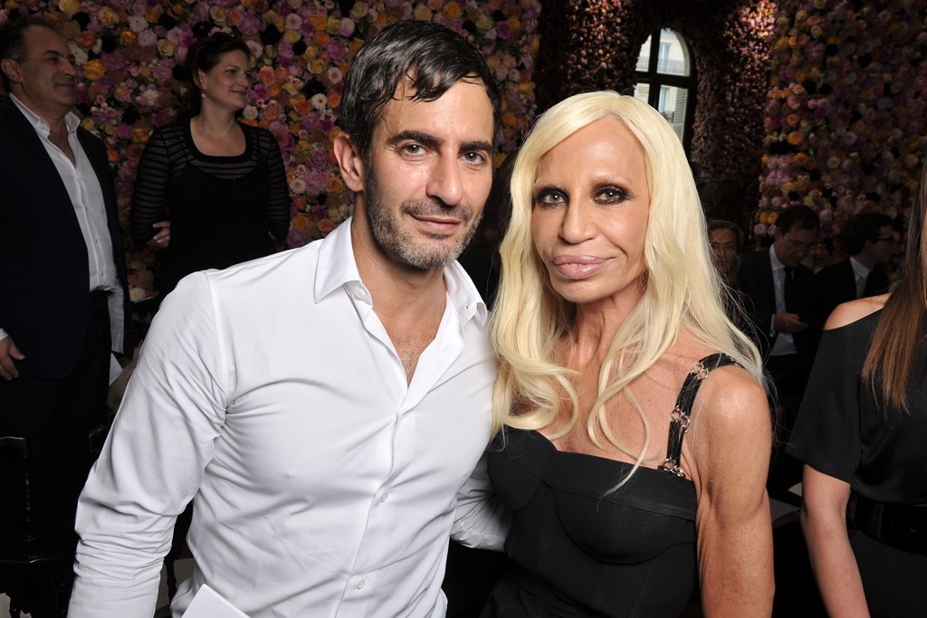 Marc Jacobs and Donatella Versace