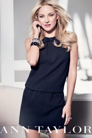 Kate Hudson in the fall Ann Taylor campaign.