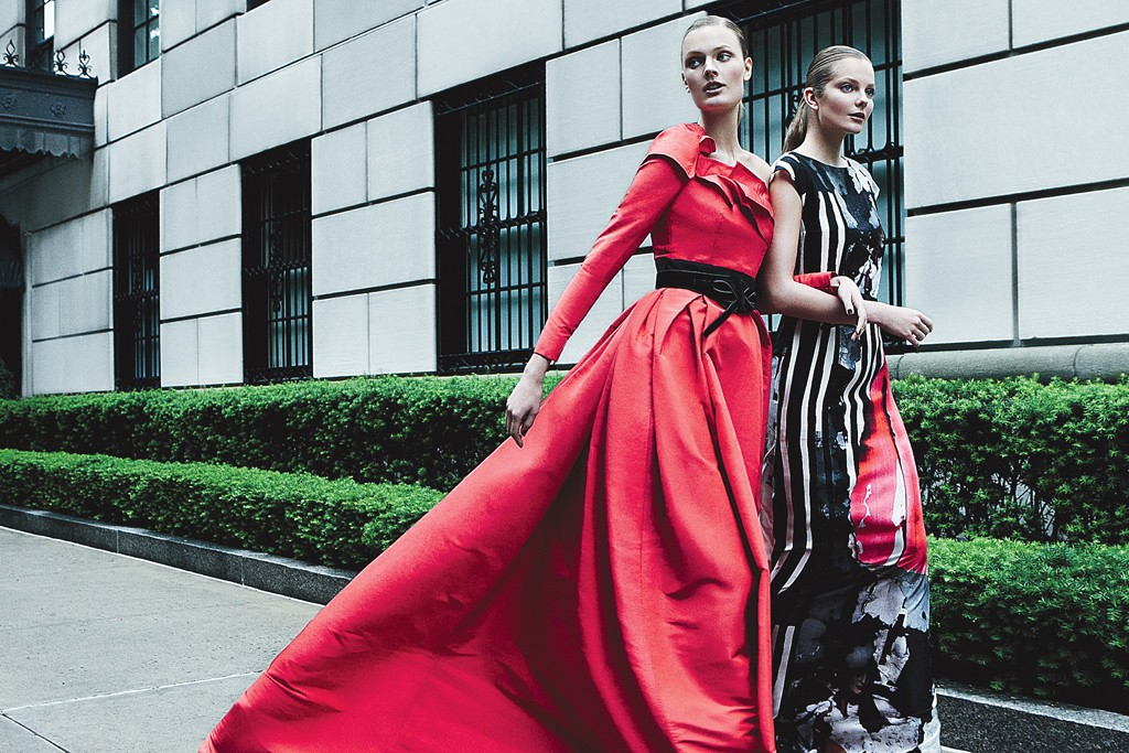 One of Patrick Demarchelier's images for Carolina Herrera's fall campaign.