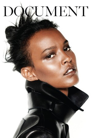 Liya Kebede photographed by Collier Schorr.