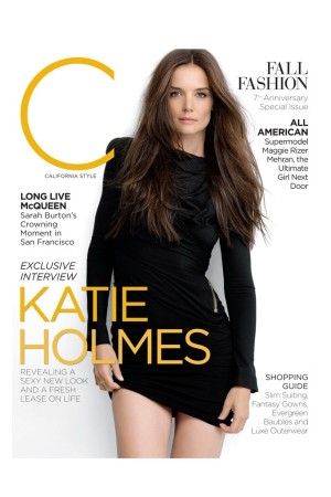 The cover of  C Magazine.