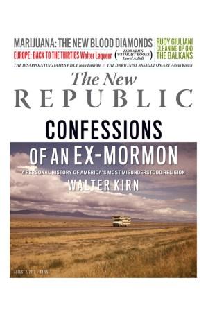 The New Republic cover.
