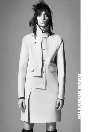 Kati Nescher in Alexander Wang's fall campaign.