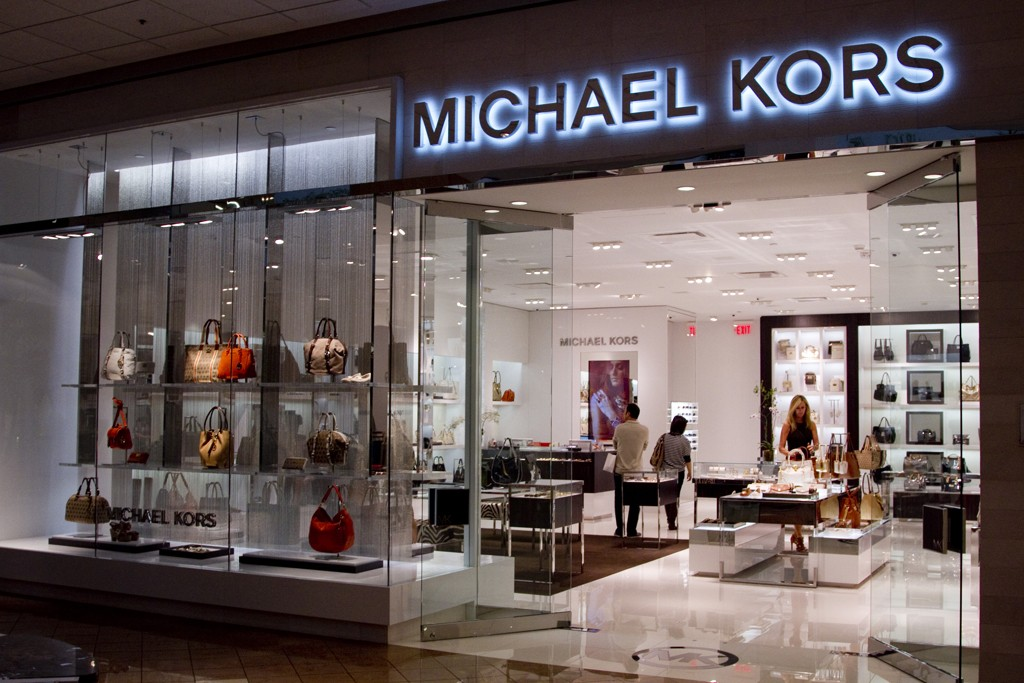 A view of Michael Kors at Canal Place in New Orleans.