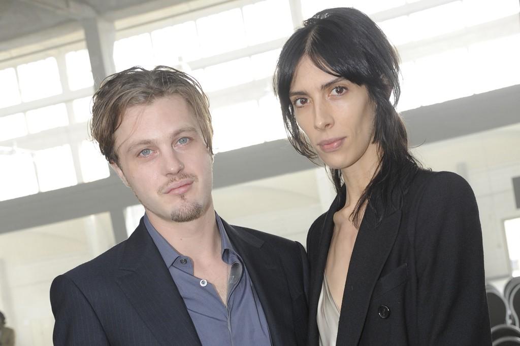 Michael Pitt and Jamie Bochert