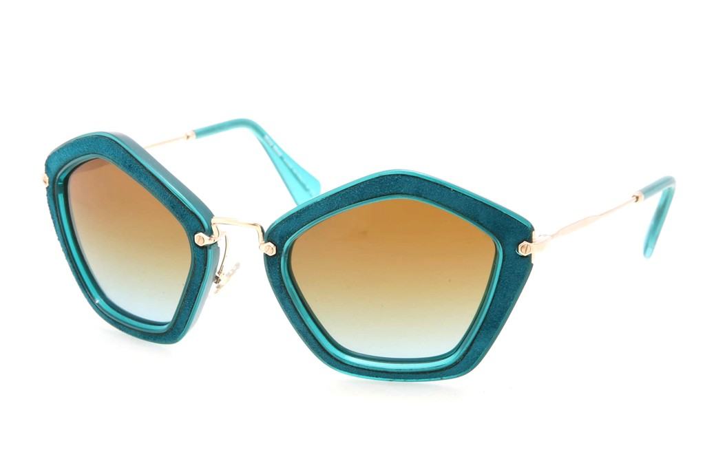 Cat-eye frames from Miu Miu's holiday collection.