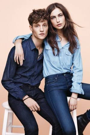 An image from Paige Denim's fall ad campaign.