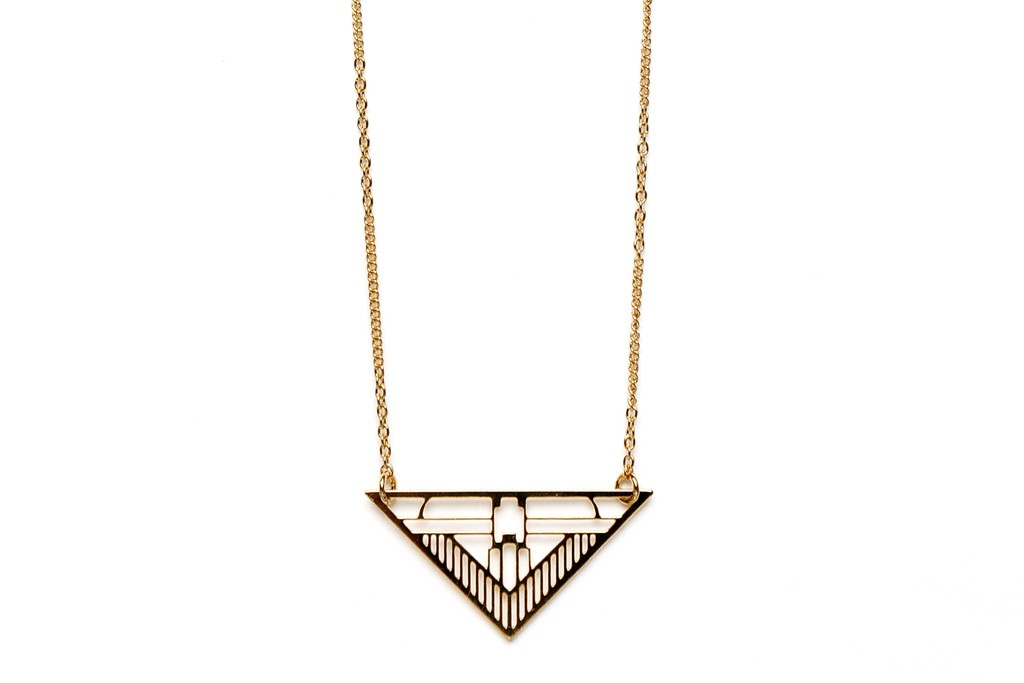 A necklace by Chic Alors.