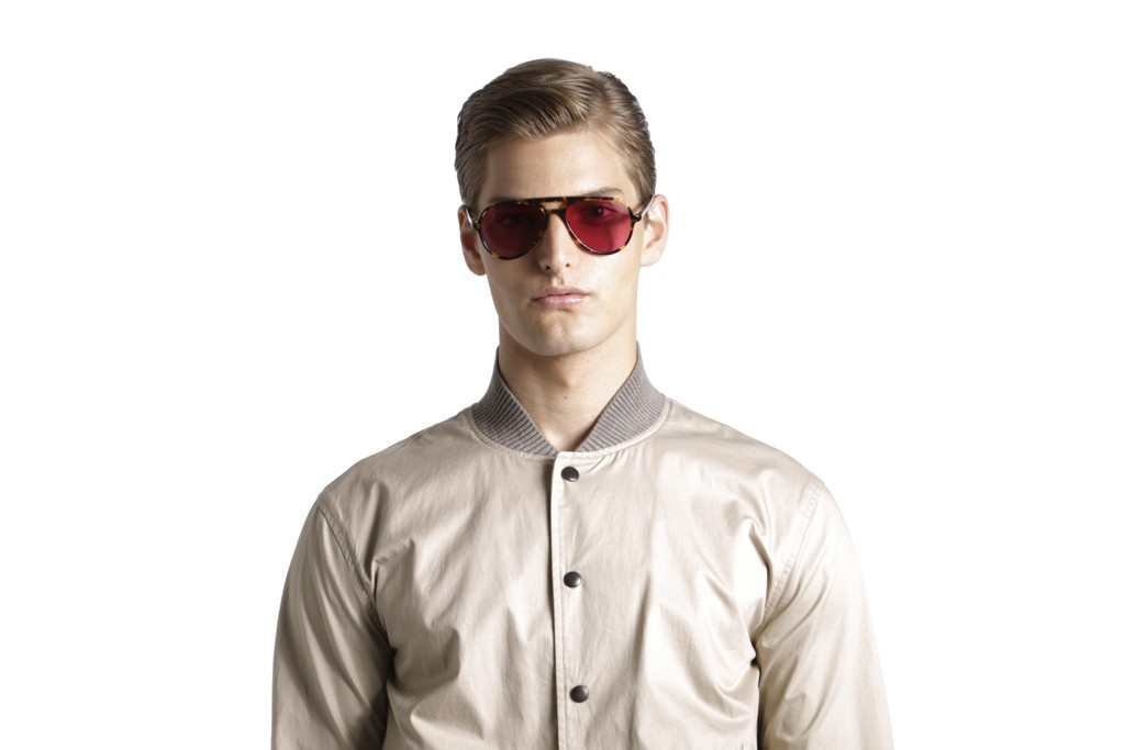 A look from the Perry Ellis by Duckie Brown collection.