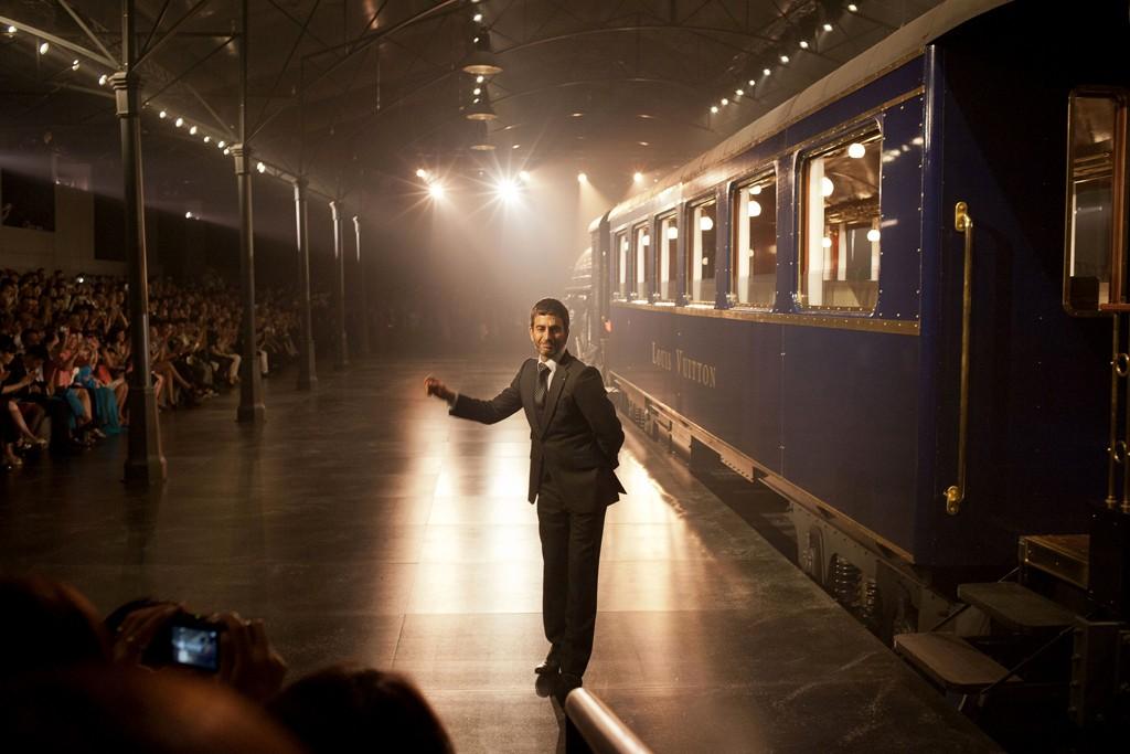 Marc Jacobs at Vuitton's Shanghai show.