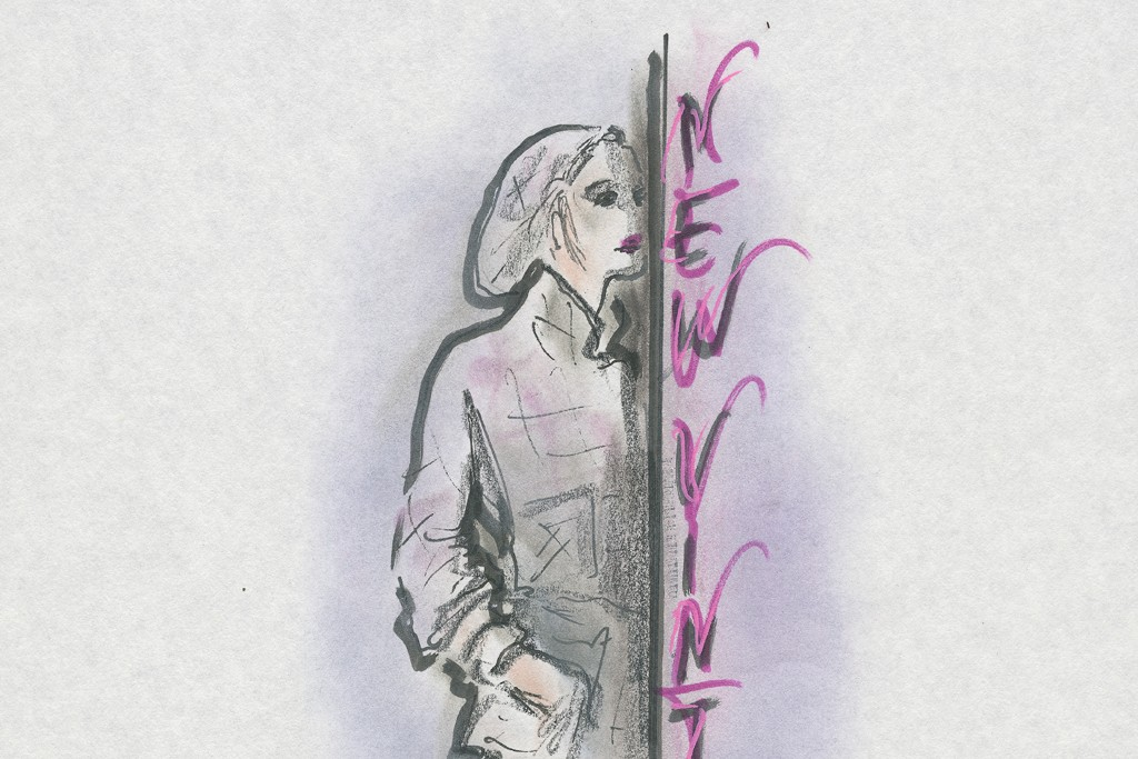 A couture sketch from Chanel.