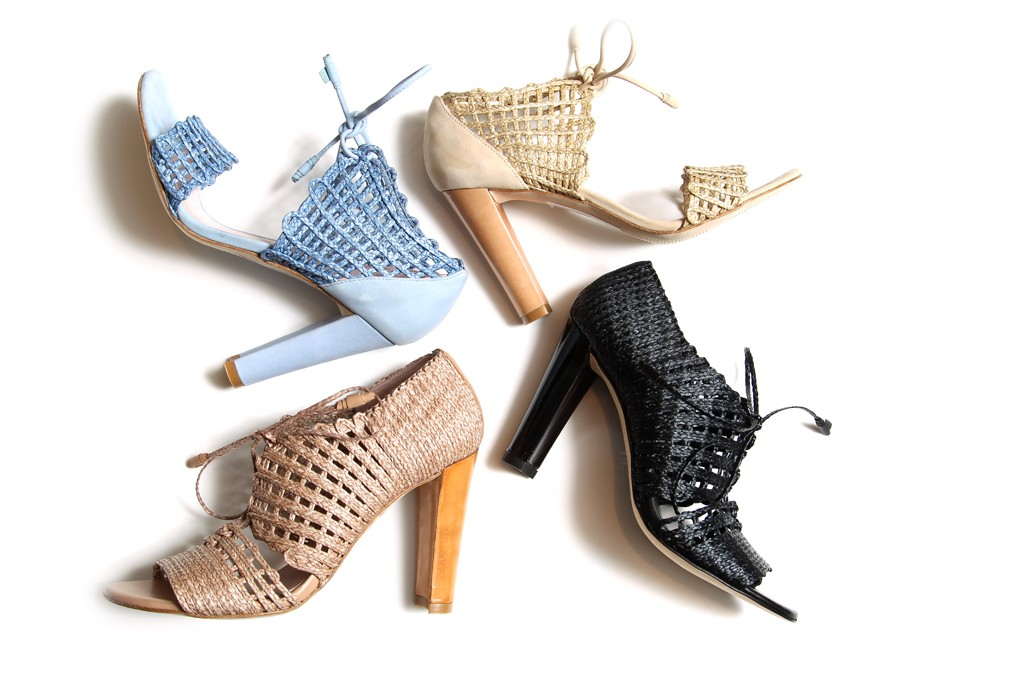 Shoes from Stuart Weitzman's resort 2013 collection.