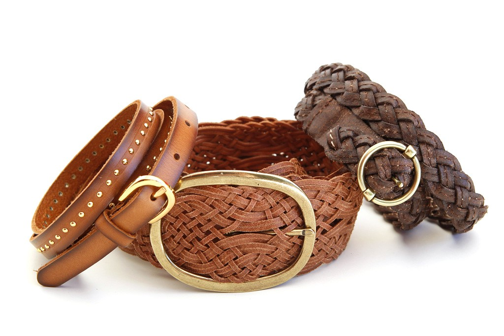Belts from Tommy Bahama.
