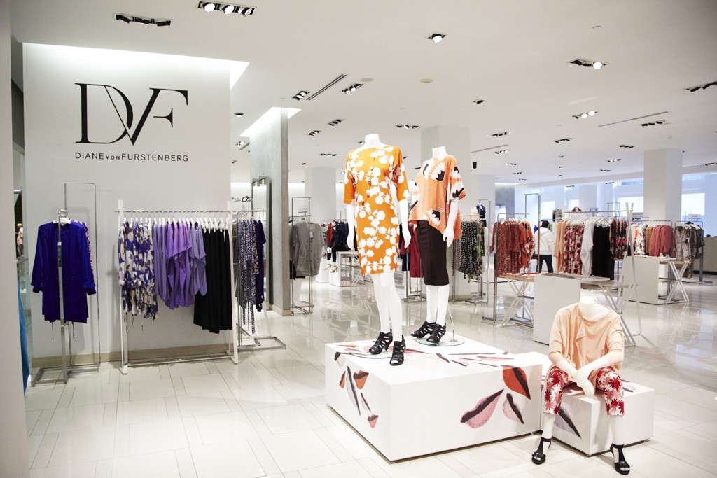 Diane Von Furstenberg's collection at Lord & Taylor.