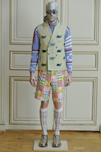Thom Browne Men's RTW Spring 2013