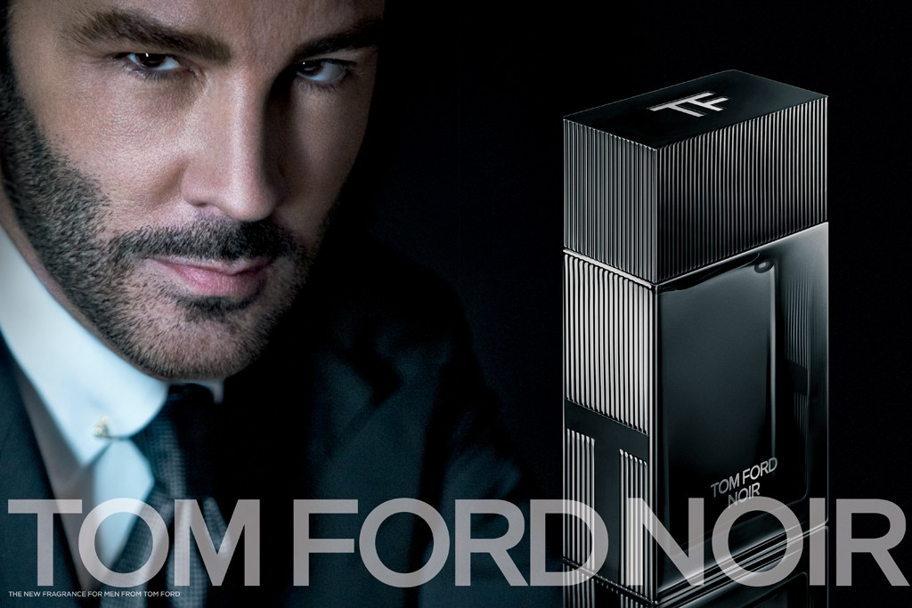 An ad for Tom Ford Noir.