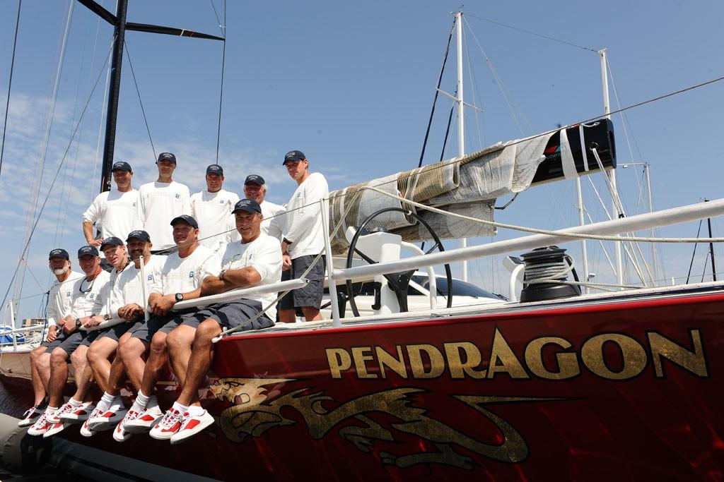 The Transpac yacht team.