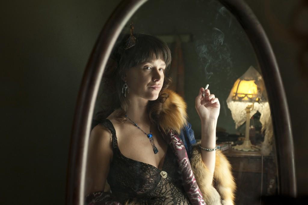 "Paz de la Huerta as Lucy Danziger in ""Boardwalk Empire."""