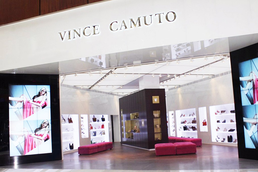 The Vince Camuto store in the Dubai Mall.