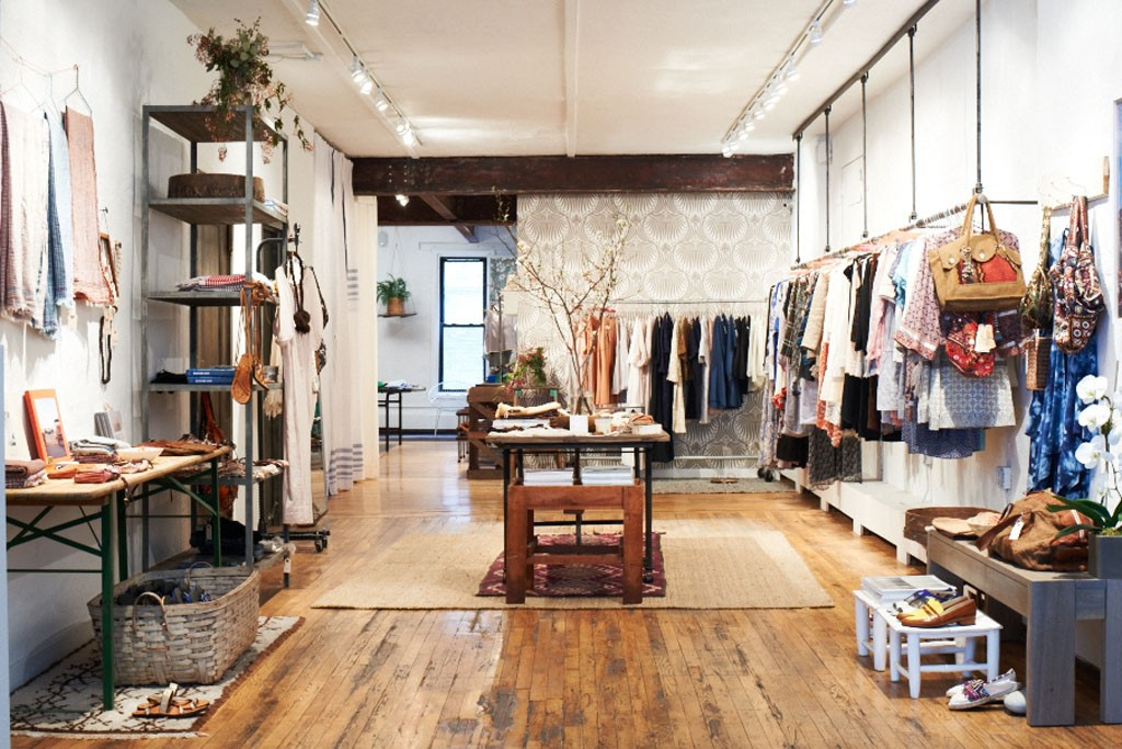 Warm's store in New York.