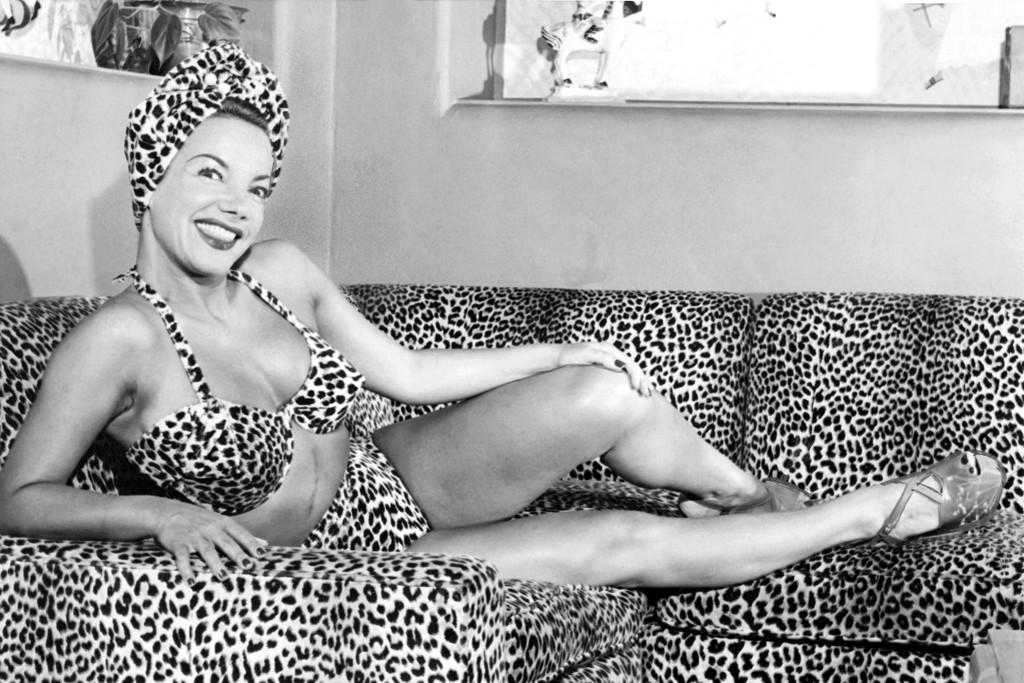 Carmen Miranda, 1948.
