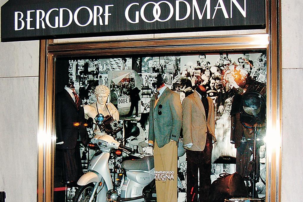 The Bergdorf Goodman Men's store.