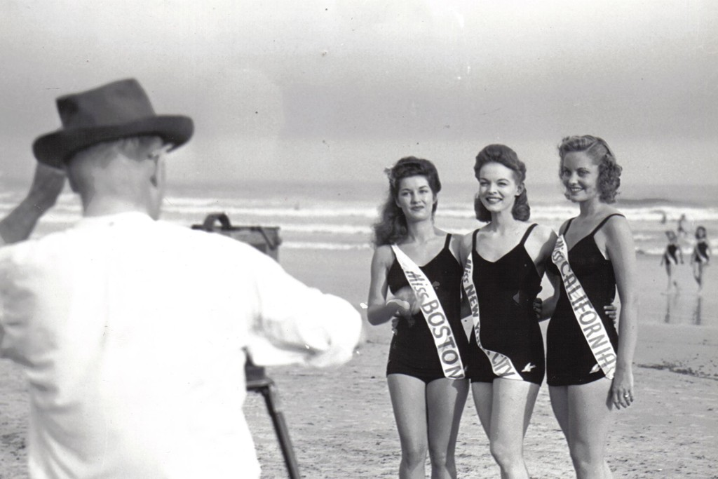 Vintage Catalina swimwear worn at the Miss America Pageant throughout the decades.