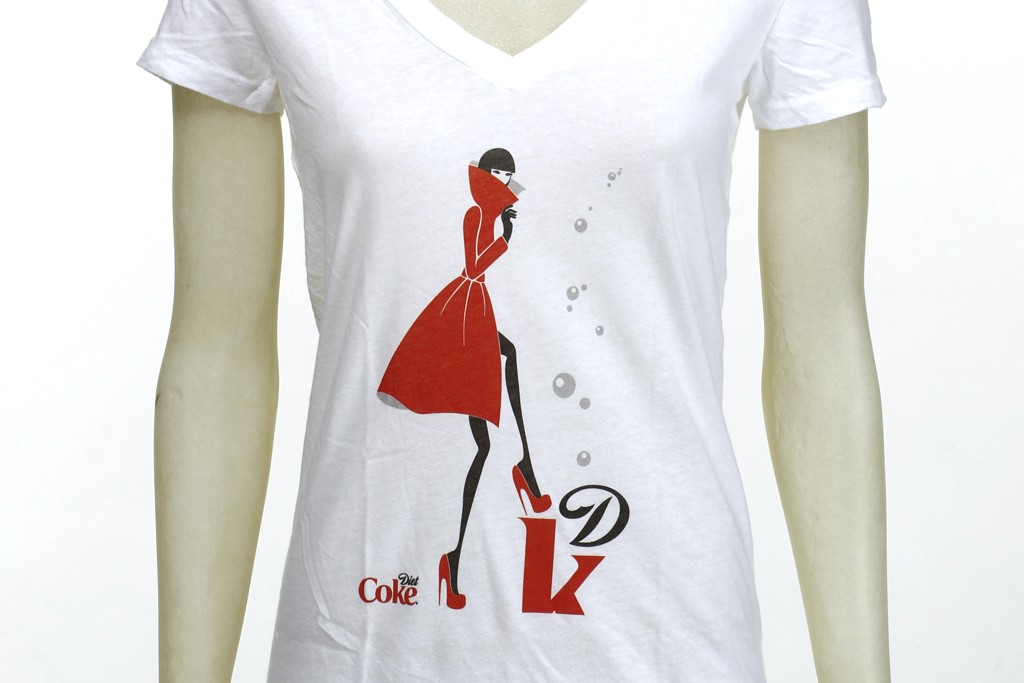 The Gustavo Alonso-designed Diet Coke T-shirt.