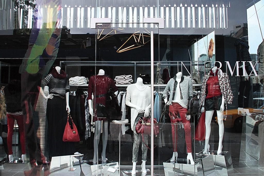 An Intermix storefront.