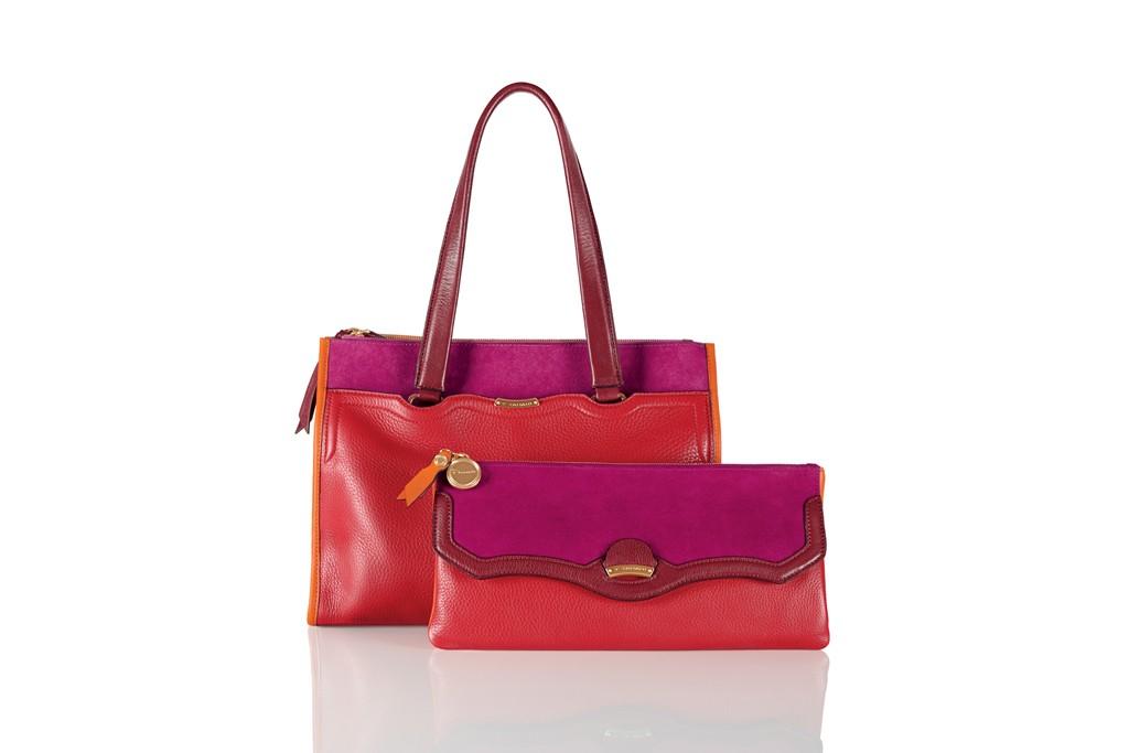 Handbags from Elie Tahari's T Tahari collection.