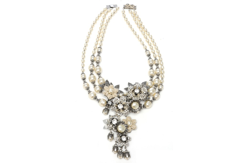 A Miriam Haskell necklace.