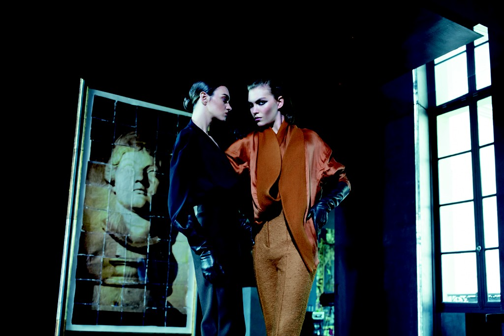 Paolo Roversi shot two women, meant to be lovers, for Barneys fall women's campaign.