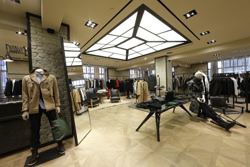 The men's store at Bergdorf Goodman.