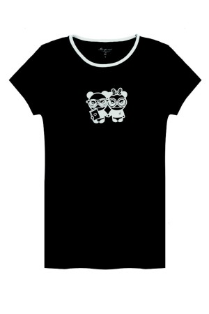 A T-shirt from the Bonpoint limited edition with Hi Panda