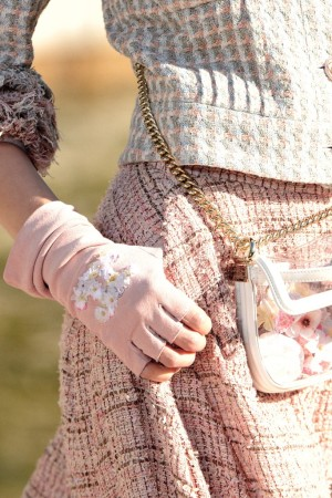 A Chanel glove made by Causse for the resort 2013 collection.