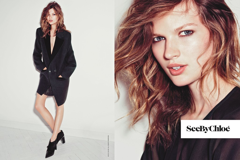 Fabien Baron's current fall campaigns for See By Chloé.
