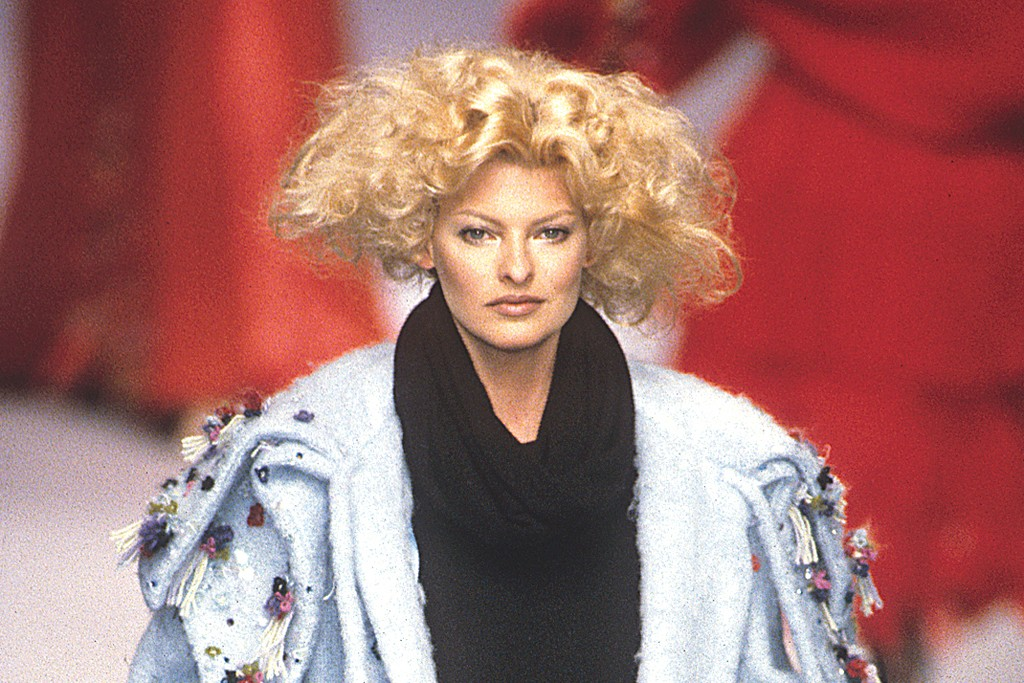 Chloé Fall 1995 by Karl Lagerfeld.