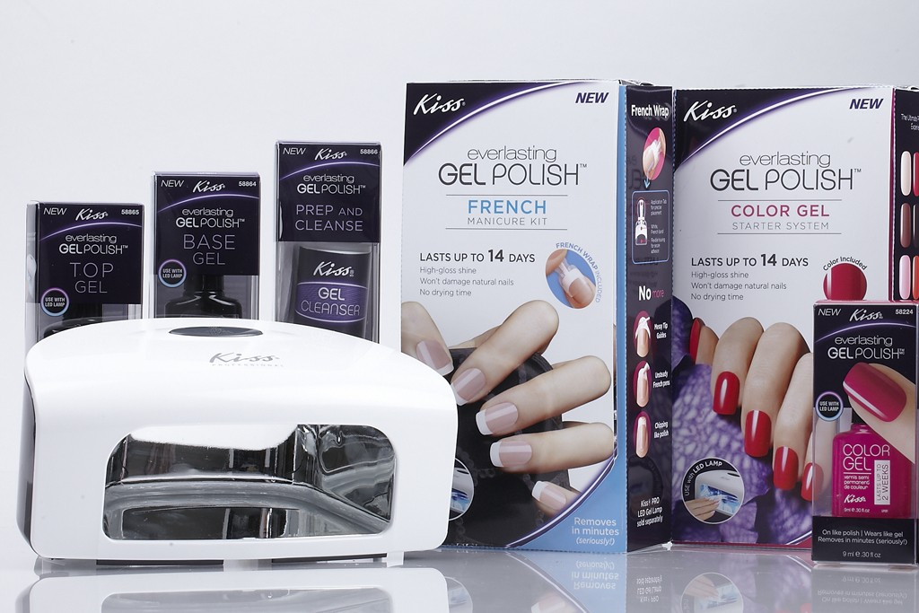 Everlasting Gel Polish is from Kiss Products.