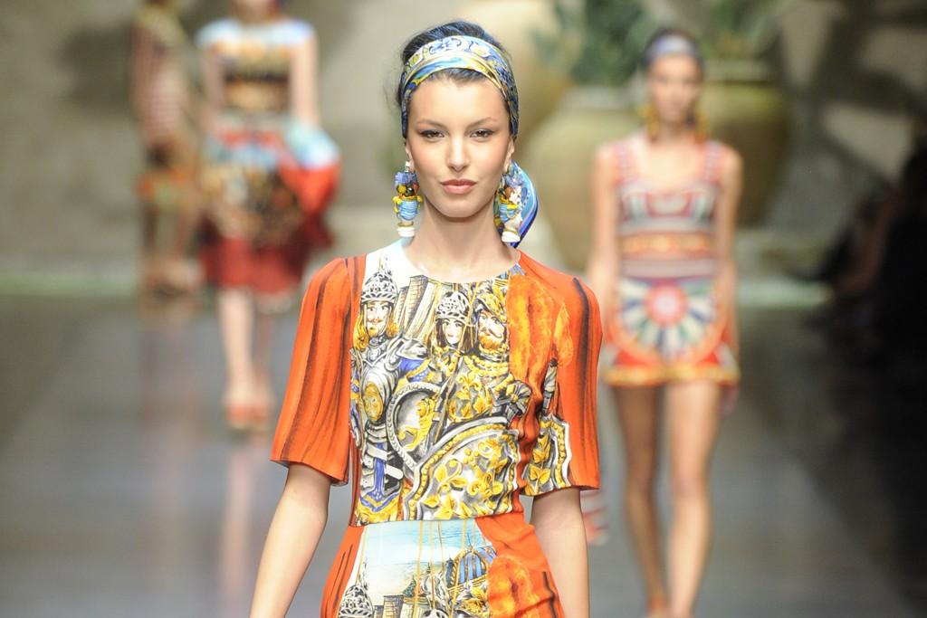 Dolce & Gabbana RTW Spring 2013